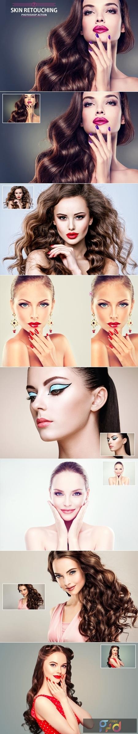 7 Skin Retouching Photoshop Action 1