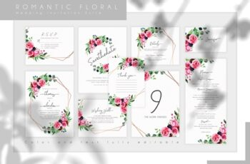 Romantic Floral Wedding Suite 3810578 7