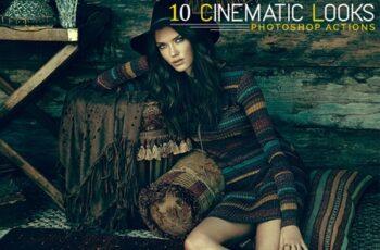 10 Cinematic Looks Photoshop Actions 10