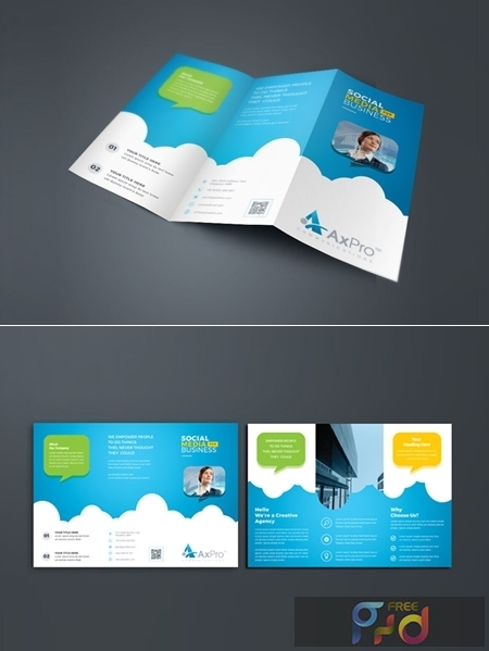 Corporate Business Trifold Brochure 3581422 1