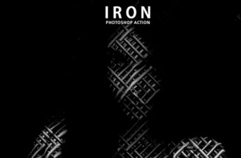 Iron Photoshop Actions 4