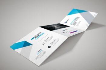 Corporate Square Trifold Brochure 3581093