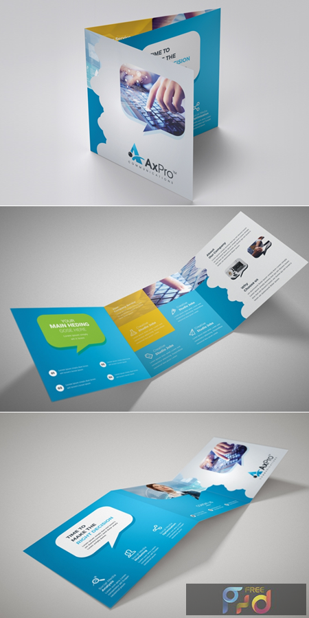 Business Square Trifold Brochure 3577314 1