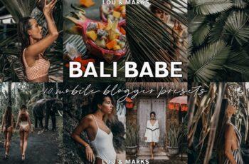 Bali Babe Blogger Lightroom Presets 3787360 7