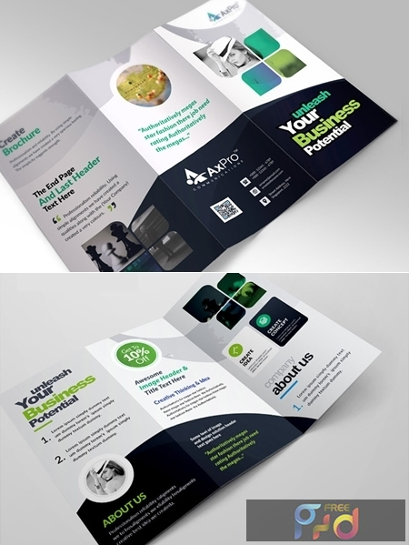 Corporate Business Trifold Brochure 3581421 1