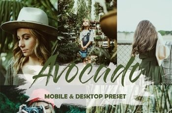 5 Mobile and Desktop Lightroom Presets Avocado 23891284 4