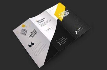 Minimal Trifold Brochure 3581407 3