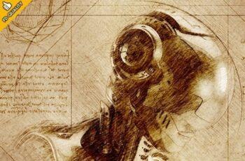 Leonardo CS4+ Photoshop Action 23743978 10