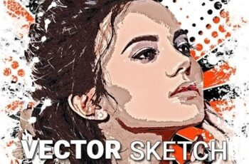 Vector Sketch Photoshop Action 23761711 6
