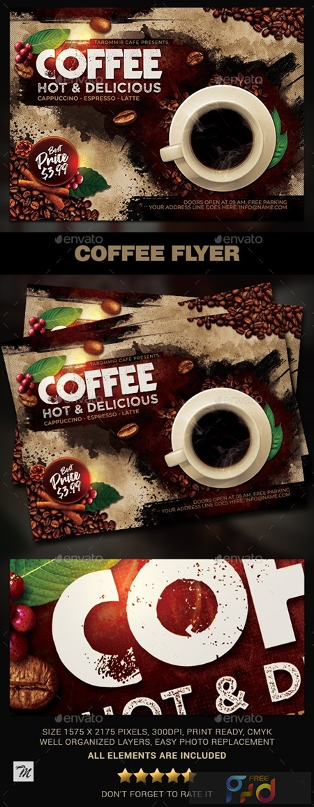 Coffee Flyer 23852279 1