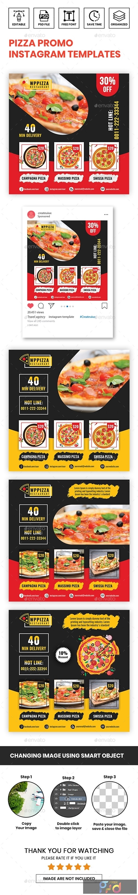 Pizza Promo Instagram Templates 23844901 1