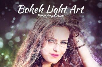 Bokeh Light Art Photoshop Action 22415880 3