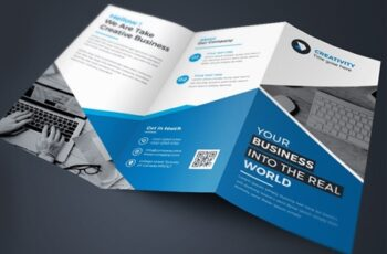 Corporate Business Trifold Brochure 3582973 3