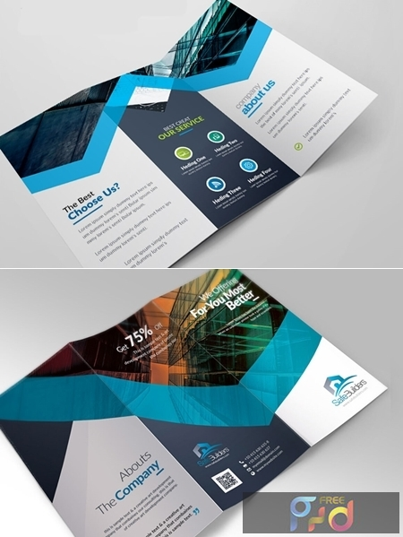 Corporate Business Trifold Brochure 3582976 1