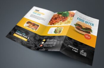 Food And Restaurant Trifold Brochure 3582972 10