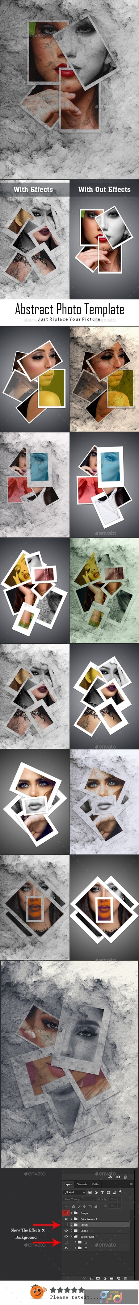 Abstract Photo Template 23805103 1