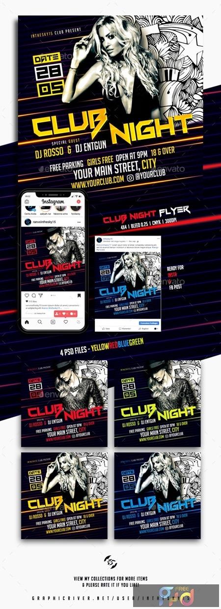 Club Night Flyer 23838805 1