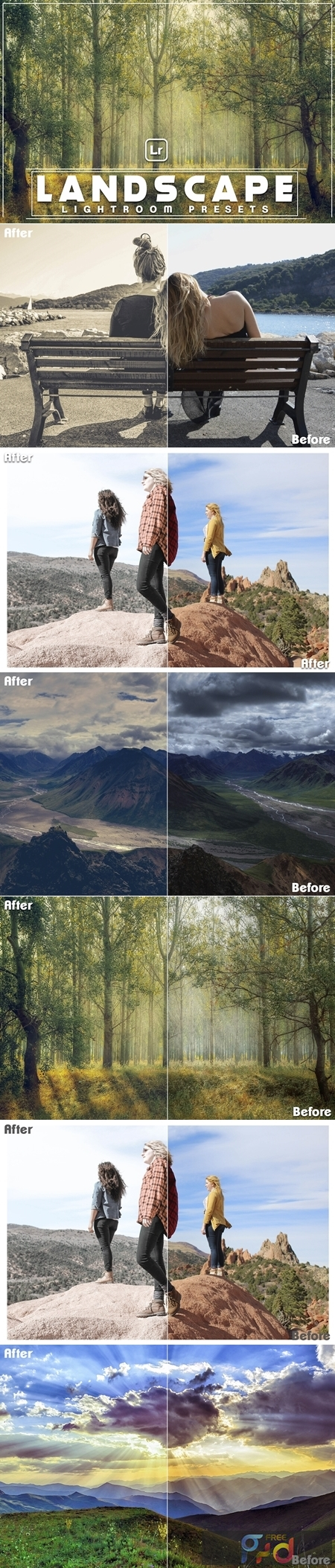 Landscape Lightroom Presets 1