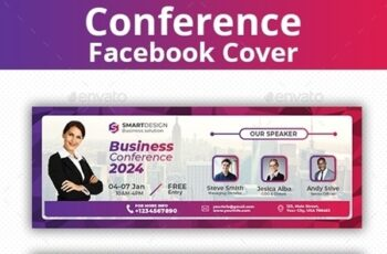 Conference Facebook Cover 23849805