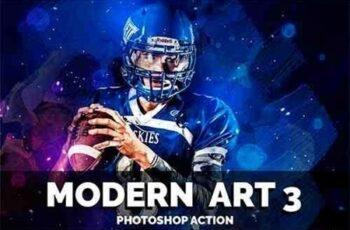 Modern Art3 Photoshop Action 3