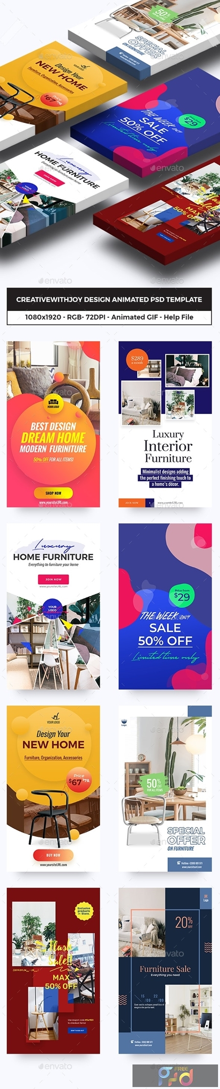 Furniture, Decor Animated GIFs Instagram Stories 23834805 1