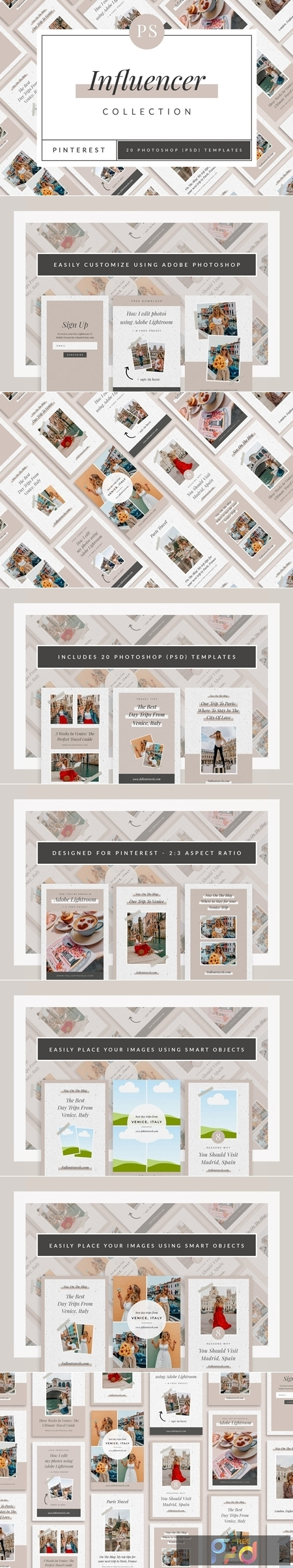 Influencer Pinterest Templates 3796392 1