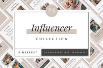 Influencer Pinterest Templates 3796392 2