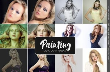 Painting Lightroom Presets 5