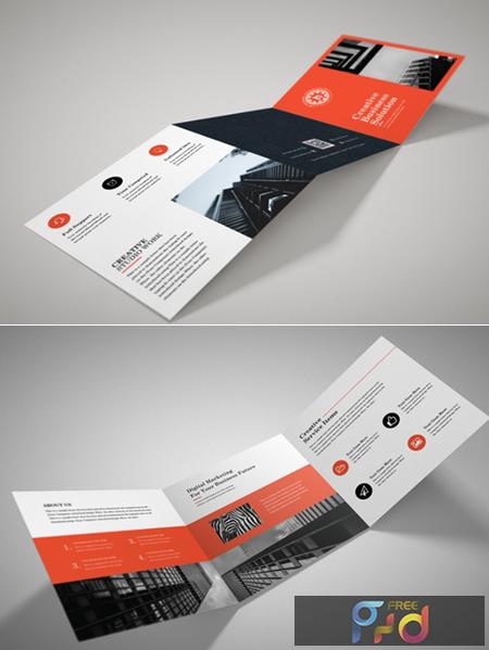 Creative Square Trifold Brochure 3579476 1