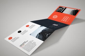 Creative Square Trifold Brochure 3579476 5