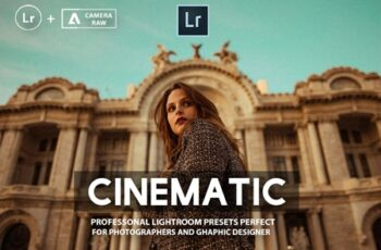 Cinematic Lightroom Presets Collection 3