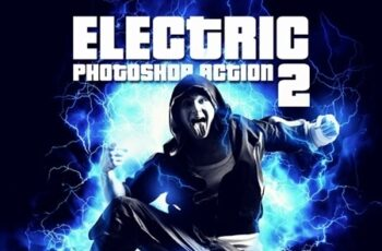 Electric 2 Photoshop Action 23345727 2