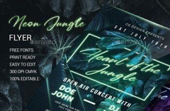 Neon Jungle Flyer 23969428 4