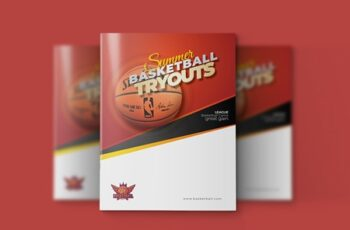 Basketball Bifold Brochure 3585736 3