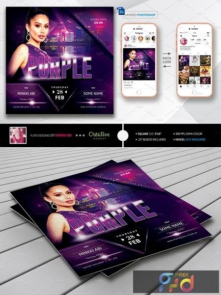 Purple Flyer 3541601 1