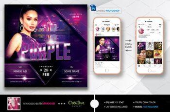Purple Flyer 3541601 2