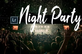 Neo Night Party Theme Desktop Lightroom Presets 5