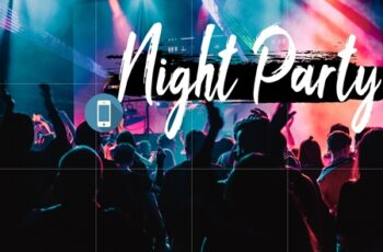 Neo Night Party Theme mobile lightroom presets 1