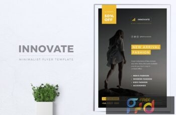 INNOVATE Minimal Fashion Flyers 3