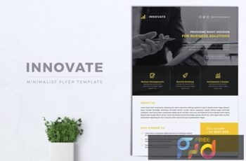 INNOVATE Multipurpose Corporate Flyer 6
