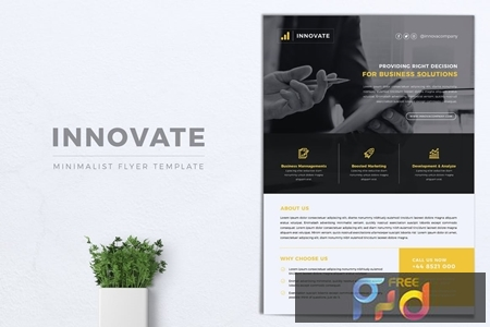 INNOVATE Multipurpose Corporate Flyer 1