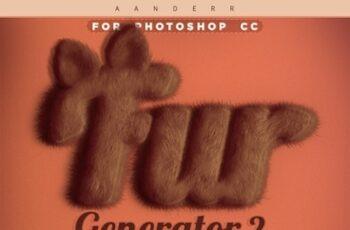 Fur Generator 2 Photoshop Action 23880641