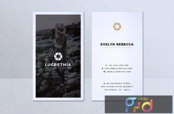 Minimalist Business Card Vol. 38 7