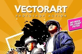 VectorArt - Photoshop Action 23766563 4