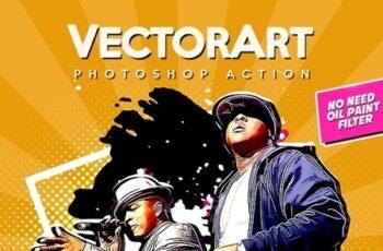 VectorArt - Photoshop Action 23766563 5