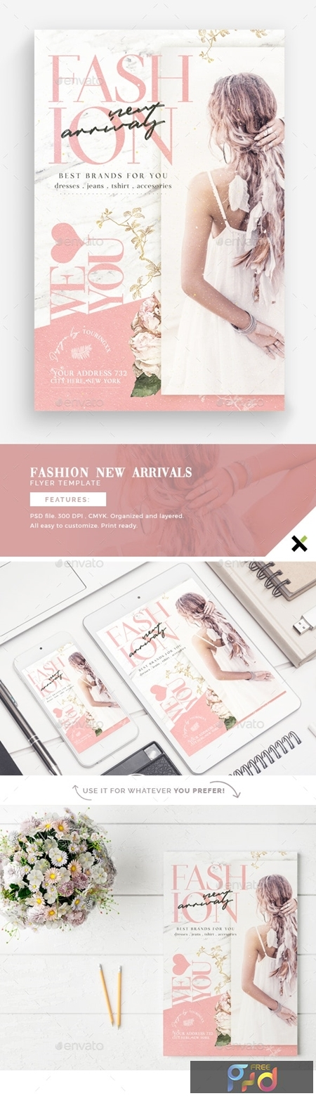 Fashion New Arrivals Flyer Template 23902684 1