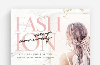 Fashion New Arrivals Flyer Template 23902684 2