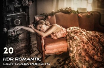 20 HDR Romantic Lightroom Presets 3841305