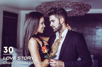 30 Love Story Lightroom Presets 3841331