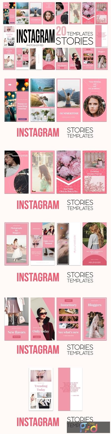 Instagram Stories Pack 3585554 1